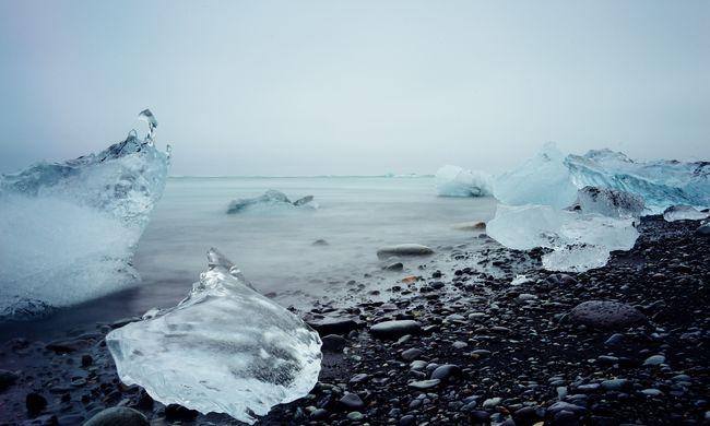Lecsapott a jégcunami: lélegzetelállító videó a különleges jelenségről