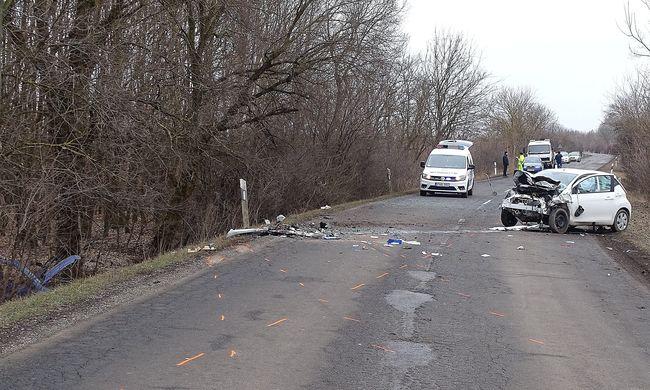 Egy ember meghalt, egy másik súlyosan megsérült Gyula közelében