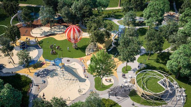Európa egyik legkomplexebb játszótere épül a Városligetben