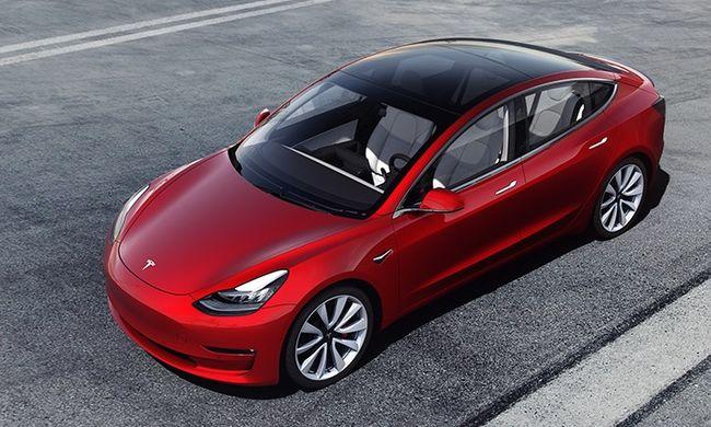 Magasfeszültség a köbön - Tesla Model 3