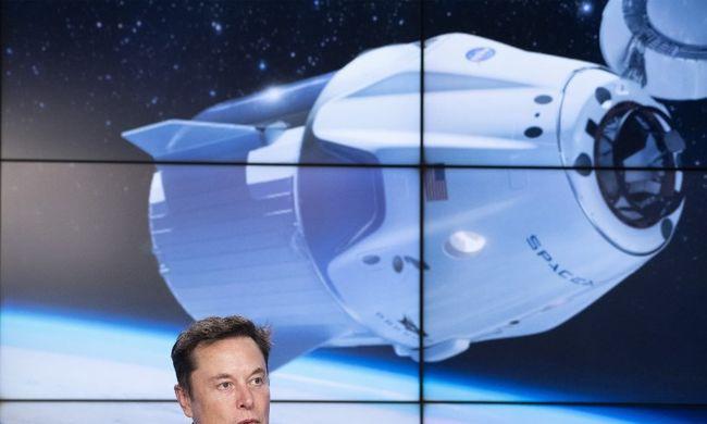 Megérkezett a Elon Musk űrhajója a Nemzetközi Űrállomásra