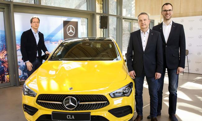 Három év alatt megduplázta személyautó eladásait a Mercedes Magyarországon