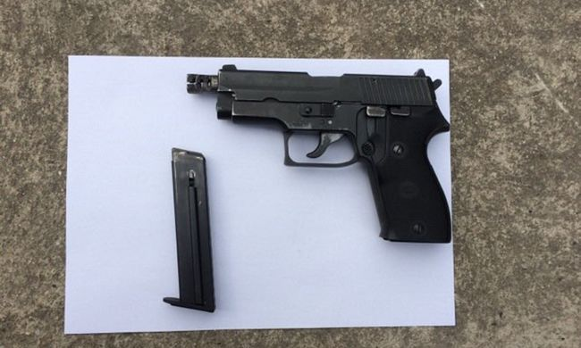 Lövések dördültek az M5-ös autópályán, a TEK kapta el a fegyveres férfit - videó
