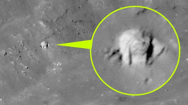 Megtalálták az idegenek bázisát a Hold egyik kráterében