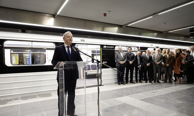 Így néz ki a 3-as metró felújított szakasza-Fotók
