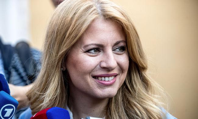 A női jelölt nyerte a szlovákiai elnökválasztást