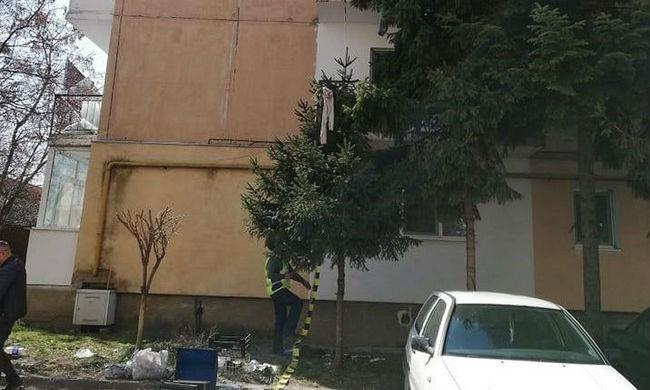 Halálos tragédia: kiugrott lakása ablakából egy sepsiszentgyörgyi nő