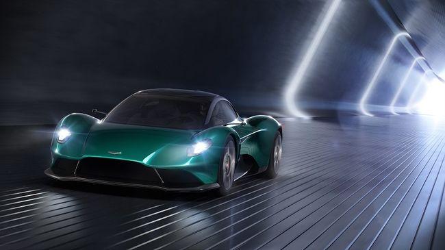Hiperautókkal parádézott az Aston Martin Genfben