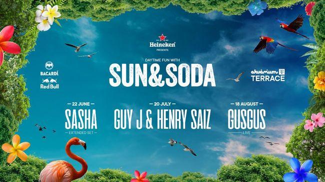 Ismét jön a Sun & Soda, Budapest legmenőbb nappali partisorozata - Mert nappal bulizni jó!
