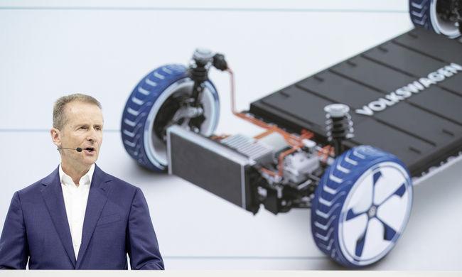VW: teljes gázzal az elektromosság felé