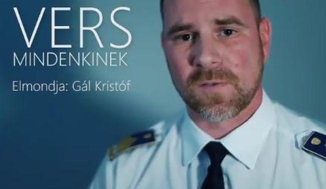 Ilyen se volt még, Belga-dalt szaval a rendőrség szóvivője