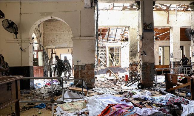 Nőtt a halálos áldozatok száma, 290-en vesztették életüket Srí Lankán