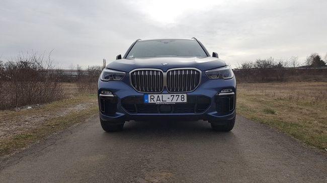 Nagy test nagy élvezet - BMW X5 M50d teszt