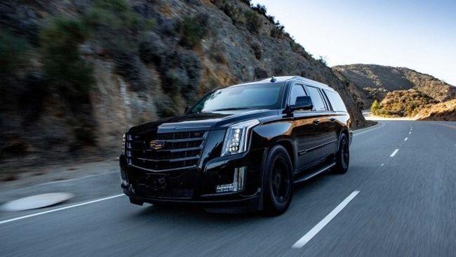 Golyóálló nagyágyú: sokat bír a páncélozott Cadillac Escalade