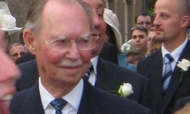 Fia közölte a hírt: családja körében hunyt el a korábbi nagyherceg