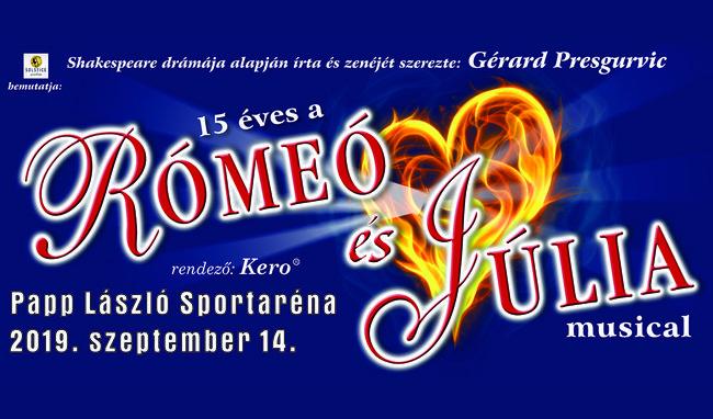 Rómeó és Júlia musical az Arénában!