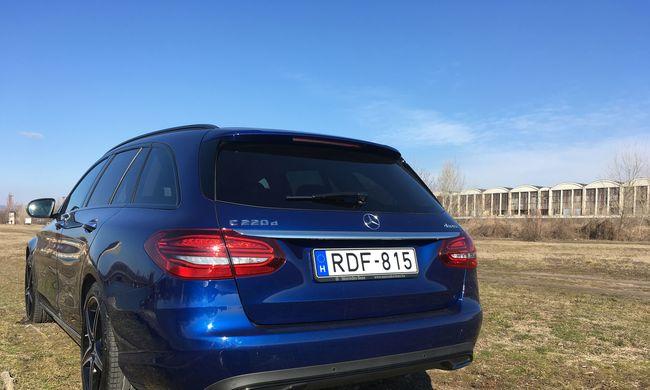 Mercedes-Benz C220 d teszt: látványkombi