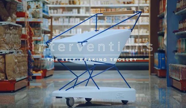 Megvan a megoldás a legidegesítőbb áruházi ütközésekre: különleges bevásárlókocsit fejlesztettek