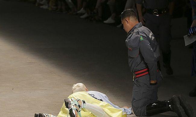 Összeesett a kifutón és meghalt egy 26 éves modell-Videó