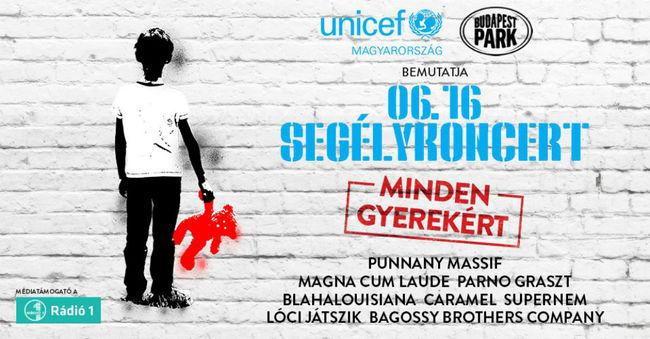 Bejelentették a Budapest Park x Unicef segélykoncert fellépőit