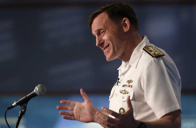 Michael Rogers, az amerikai Nemzetbiztonsági Ügynökség igazgatója. Fotó: Europress / Win McNamee - Getty Images